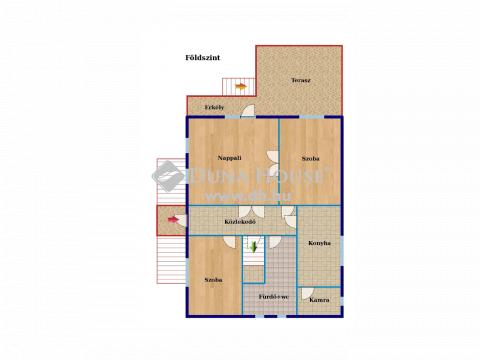 Eladó Ház, Bács-Kiskun megye, Kunpeszér - Kunpeszér központi részén családi ház üzlethelyiséggel!