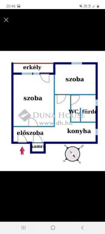Eladó Lakás, Bács-Kiskun megye, Kecskemét - Belvároshoz közel,felújított 1.emeleti lakás