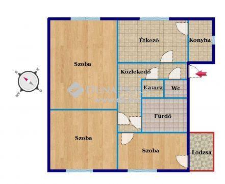 Eladó Lakás, Bács-Kiskun megye, Lajosmizse - Eladó lakás Lajosmizsén